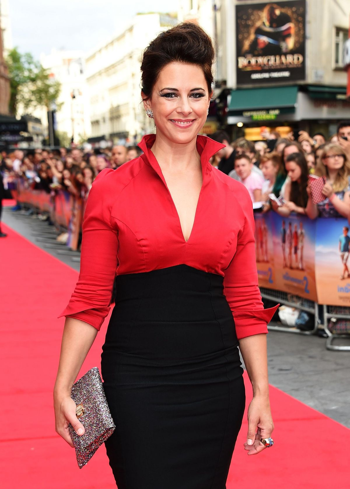 BELINDA STEWART-WILSON at The Inbetweeners 2 Premiere in London
