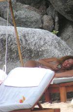 Beyonce in Bikini on the Beach in Thailand   GotCeleb