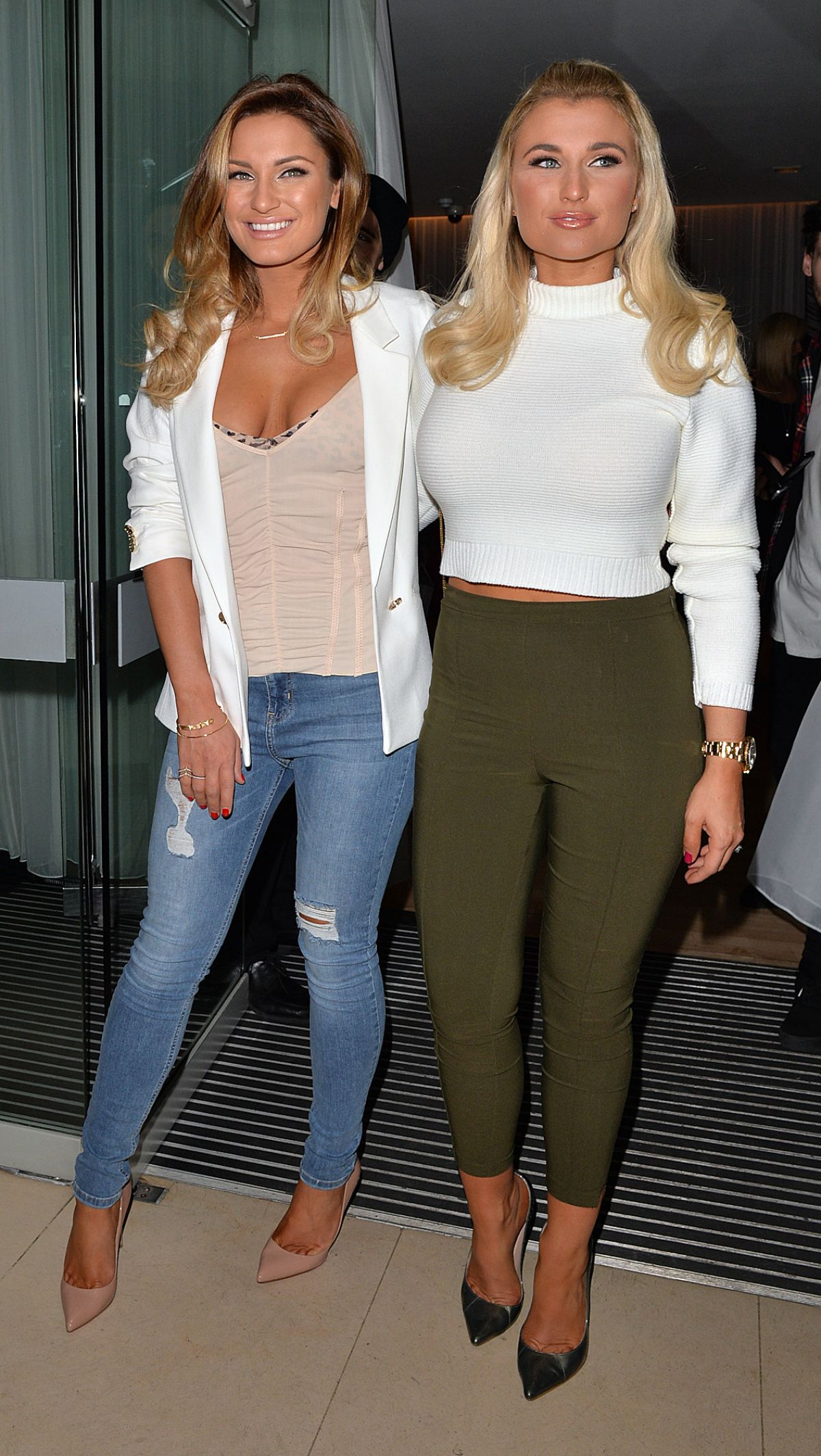 BILLIE and SAM FAIERS at Sanderson Hotel in London