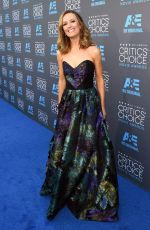 BOOKE ANDERSON at 2015 Critics Choice Movie Awards in Los Angeles