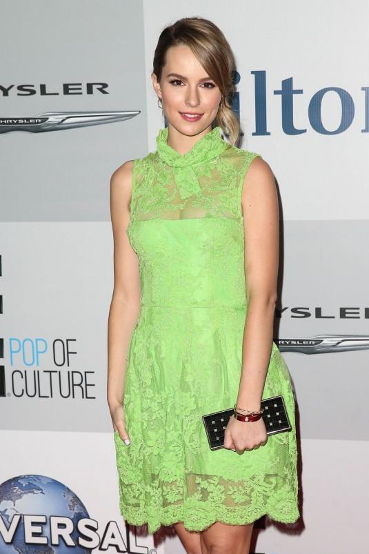BRIDGIT MENDLER at NBC Golden Globes Party