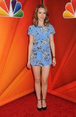 BRIDGIT MENDLER at NBC/Universal TCA Press Tour in Pasadena