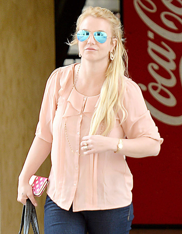 BRITNEY SPEARS Leaves Westfield Topanga Mall in Los Angeles