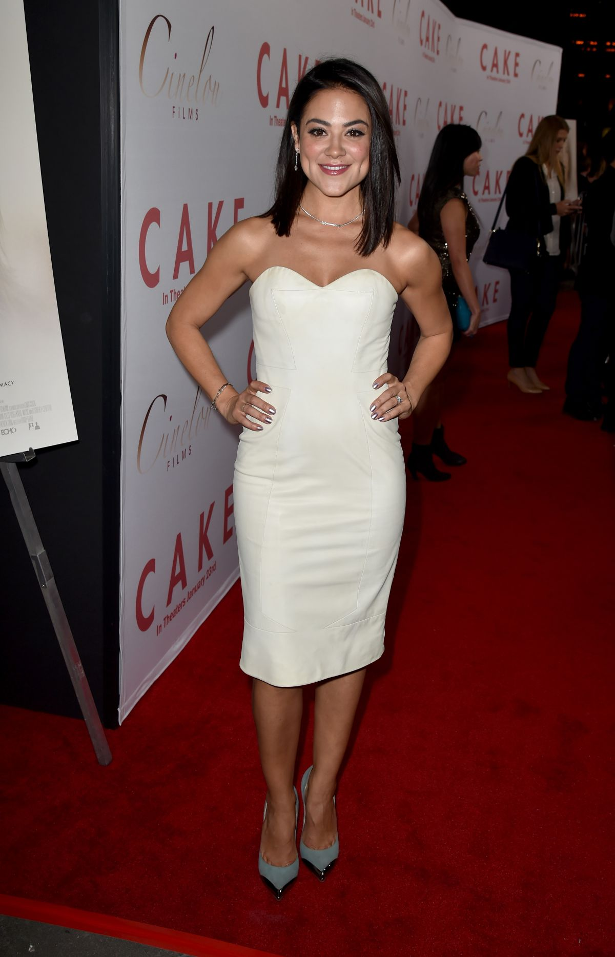 Camille Guaty Cake Premiere Hollywood 11 Demi Lovato Kardashian