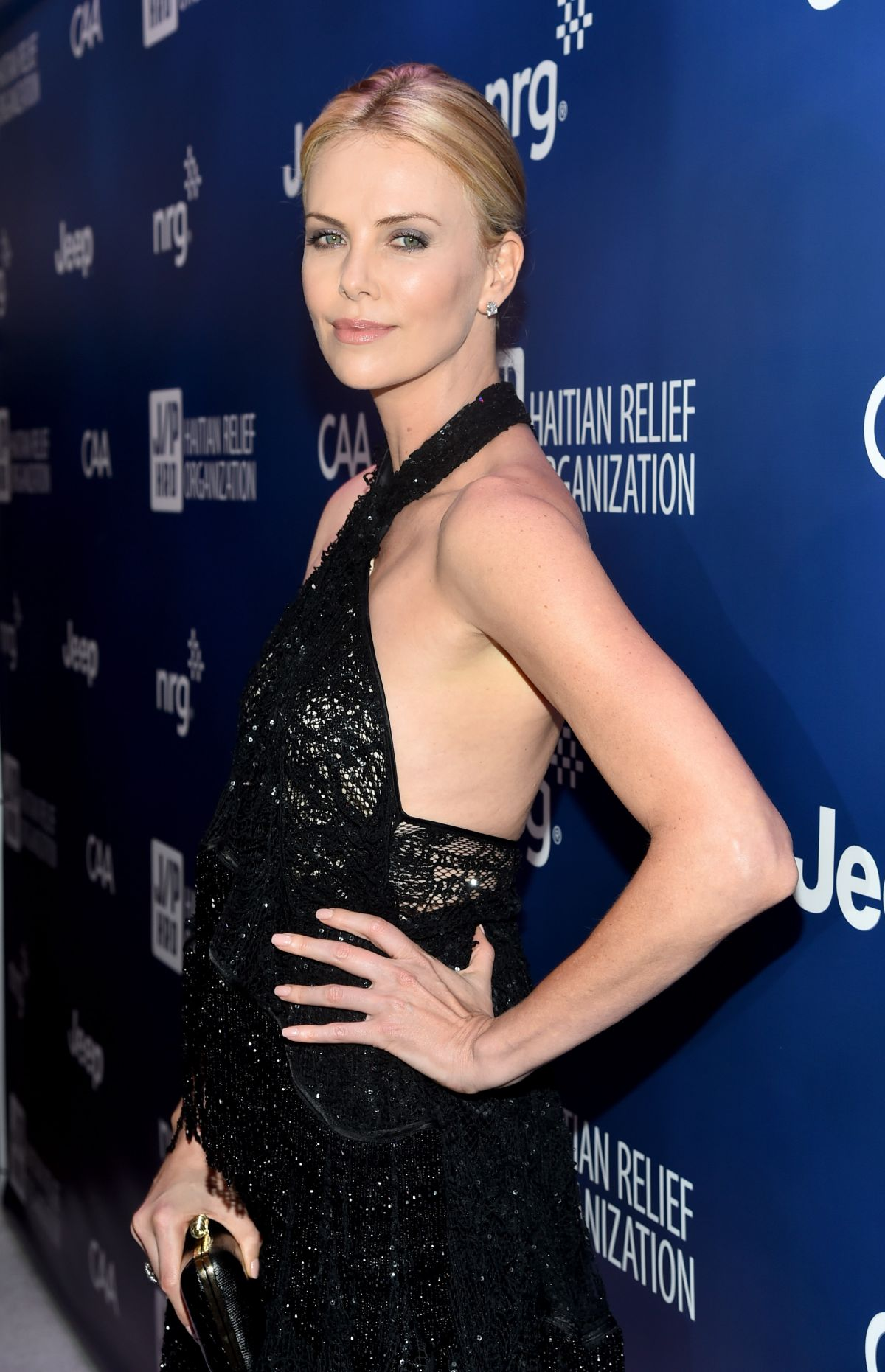 CHARLIZE THERON at 2015 Sean Penn and Friends Help Haiti Home Gala in ... Charlize Theron