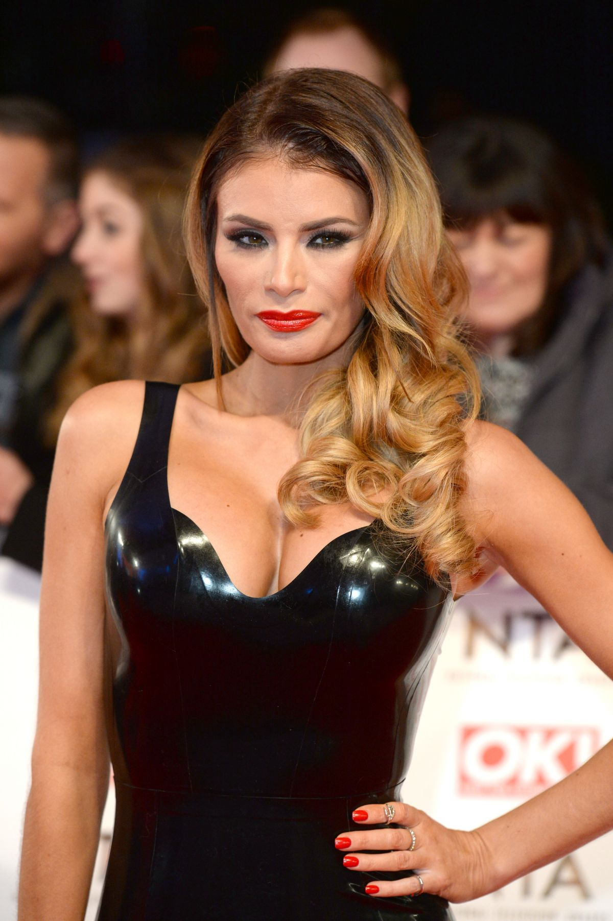 CHLOE SIMS at 2015 National Television Awards in London