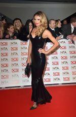 CHLOE SIMS at 2015 National Television Awards in London
