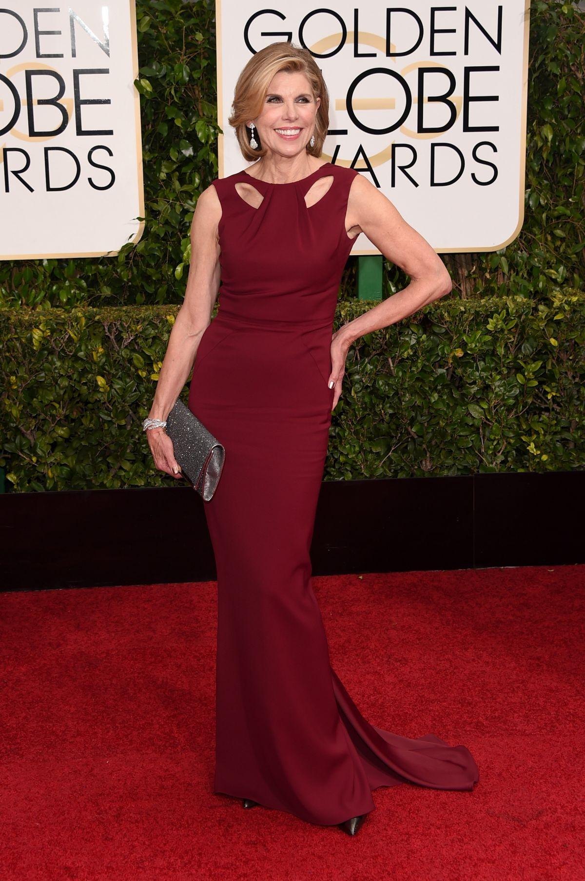 CHRISINE BARANSKI at 2015 Golden Globe Awards in Beverly Hills