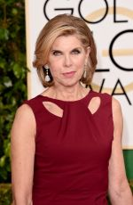 CHRISINE BARANSKI at 2015 Golden Globe Awards in Beverly Hills