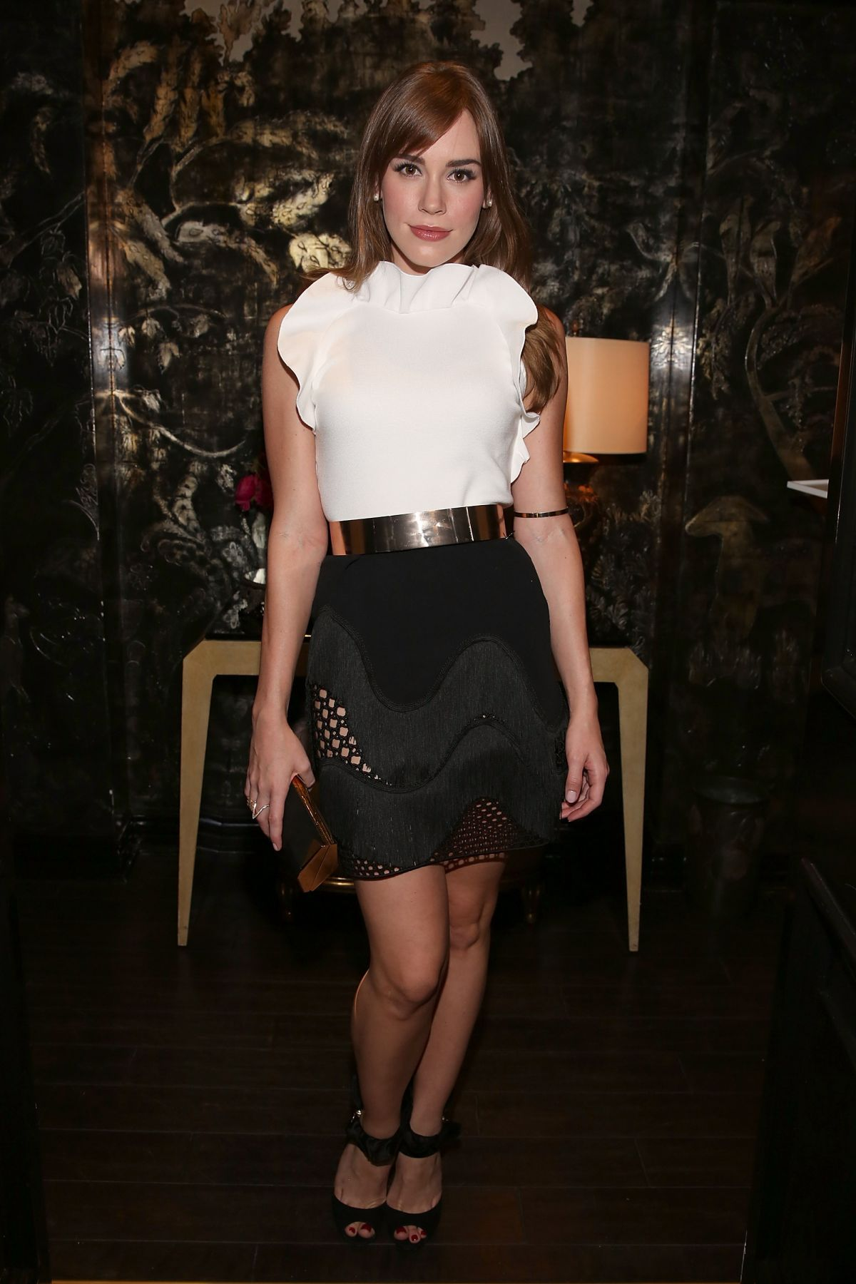 CHRISTA B ALLEN at Violet Grey & Bobbi Brown Celebrate the Girl Rising Movement in Los Angeles