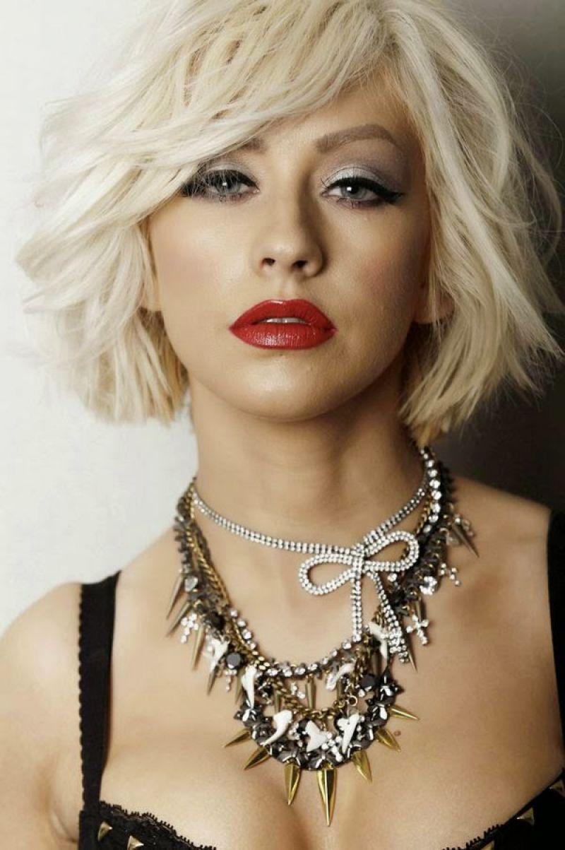 CHRISTINA AGUILERA in Leisure Latino Magazine, January ... Christina Aguilera