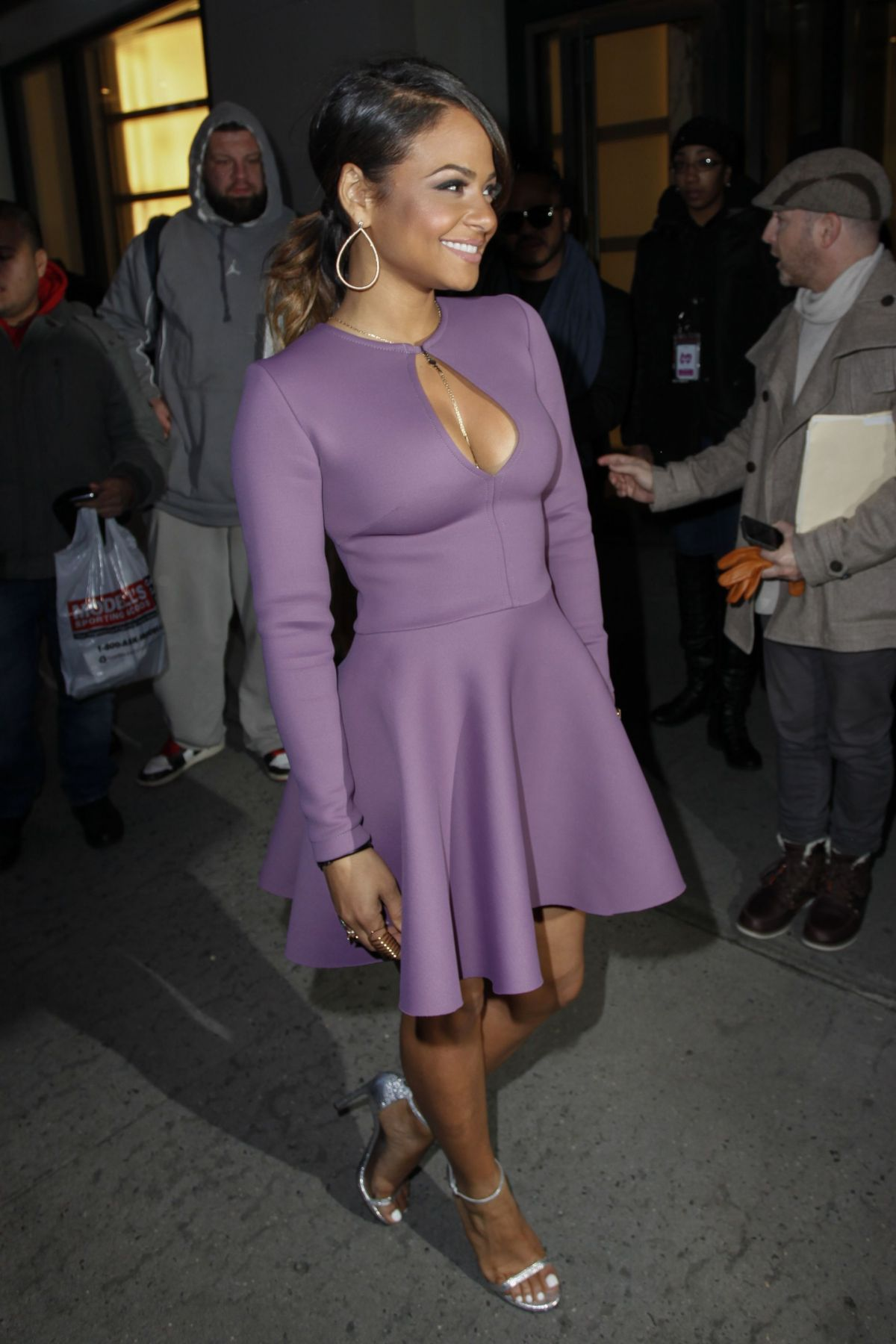 Remarkable, christina milian tight dress
