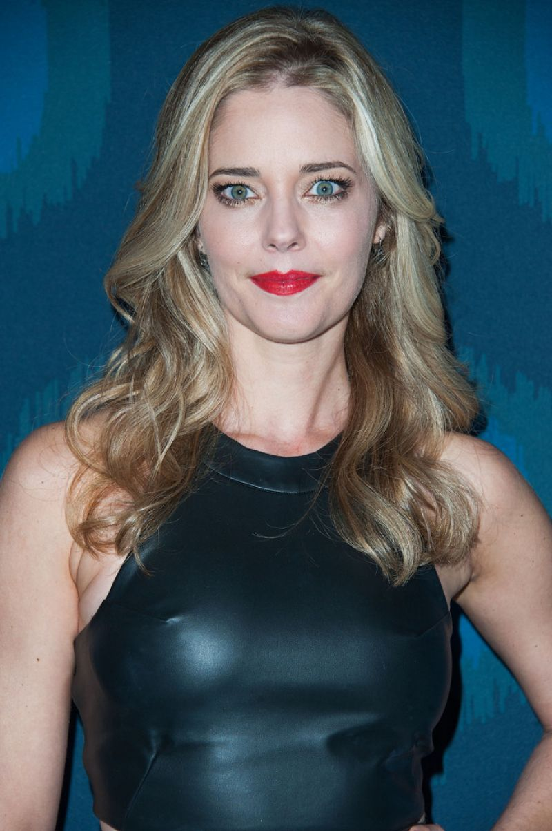 CHRISTINA MOORE at 2015 Fox All-star Party in Pasadena