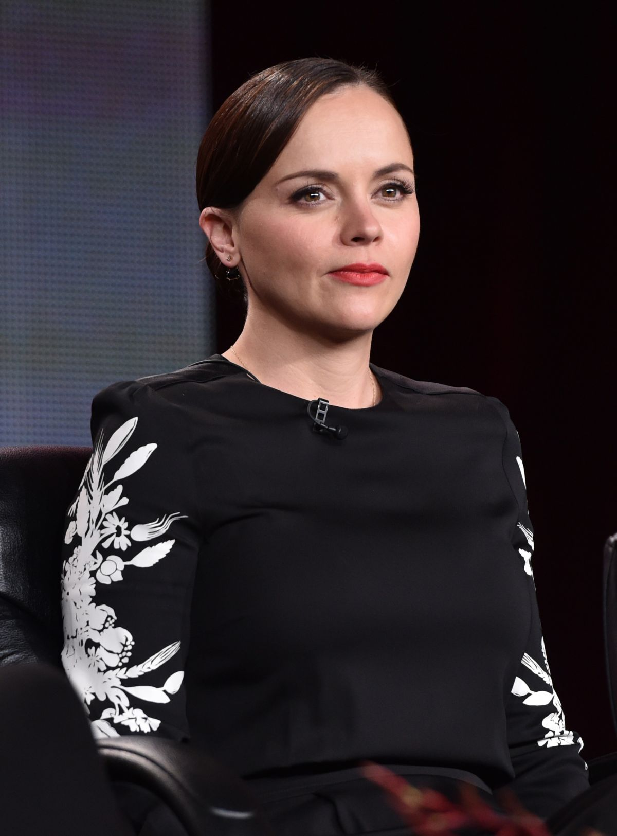 CHRISTINA RICCI The Lizie Borden Chronicles Panel TCA Press Tour in ... Christina Ricci