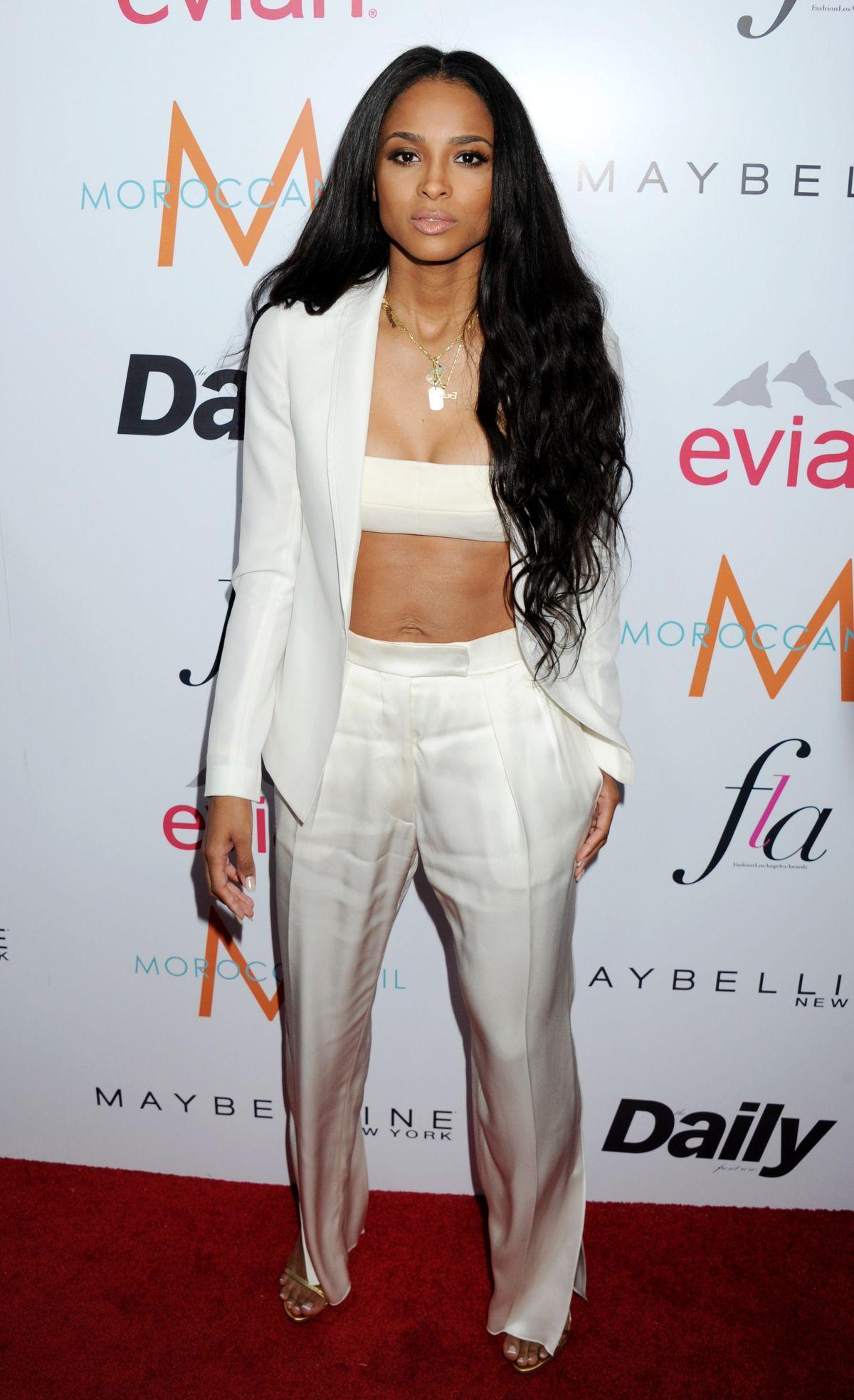 Ciara At Daily Front Row Fashion Los Angeles Awards Show