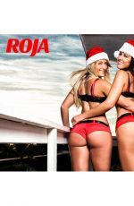 CLAUDIA ROMANI and ERIKA TESSAROLO in Bikinis for Roja Magazine
