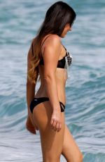 CLAUDIA ROMANI in Bikini at a Beach in Miami 0101