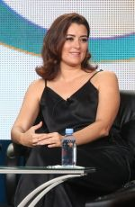 COTE DE PABLO at The Dovekeepers Panel TCA Press Tour in Pasadena