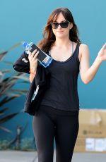 DAKOTA JOHNSON Leaves Pilates Class in West Hollywood 1601