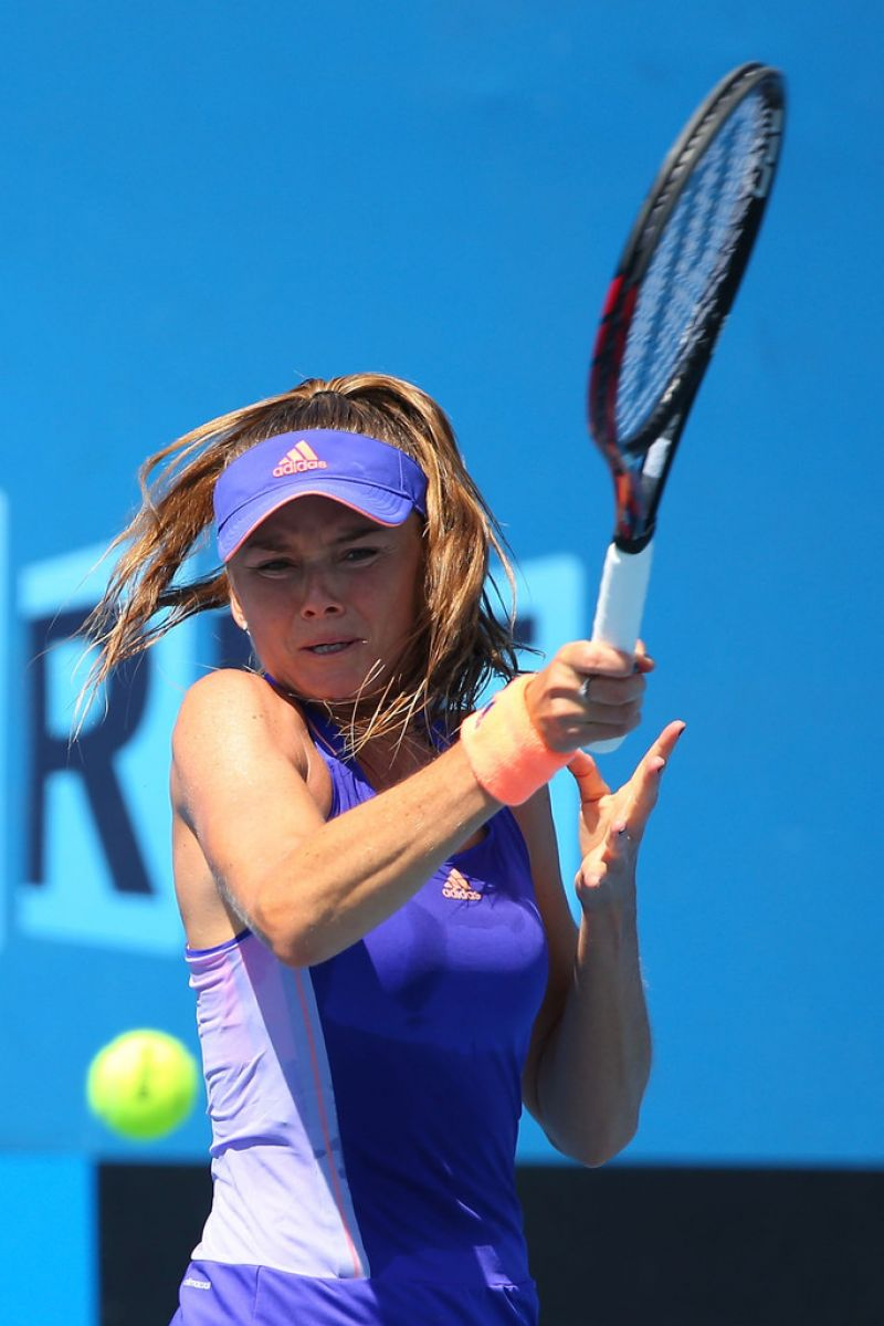 DANIELA HANTUCHOVA at 2015 Australian Open in Melbourne
