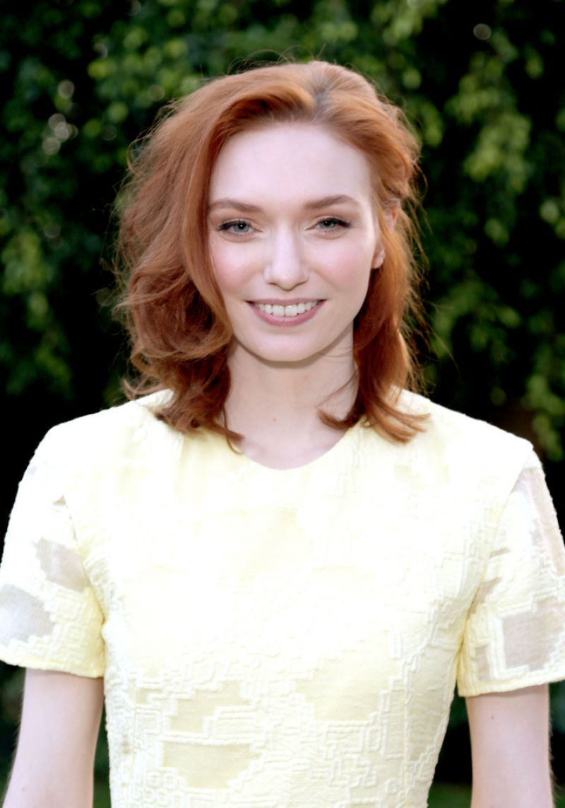 ELEANOR TOMLINSON at Wolf Hall Celebrated in Los Angeles