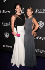 ELISHA CUTHBERT at Instyle and Warner Bros Golden Globes Party un Beverly Hills