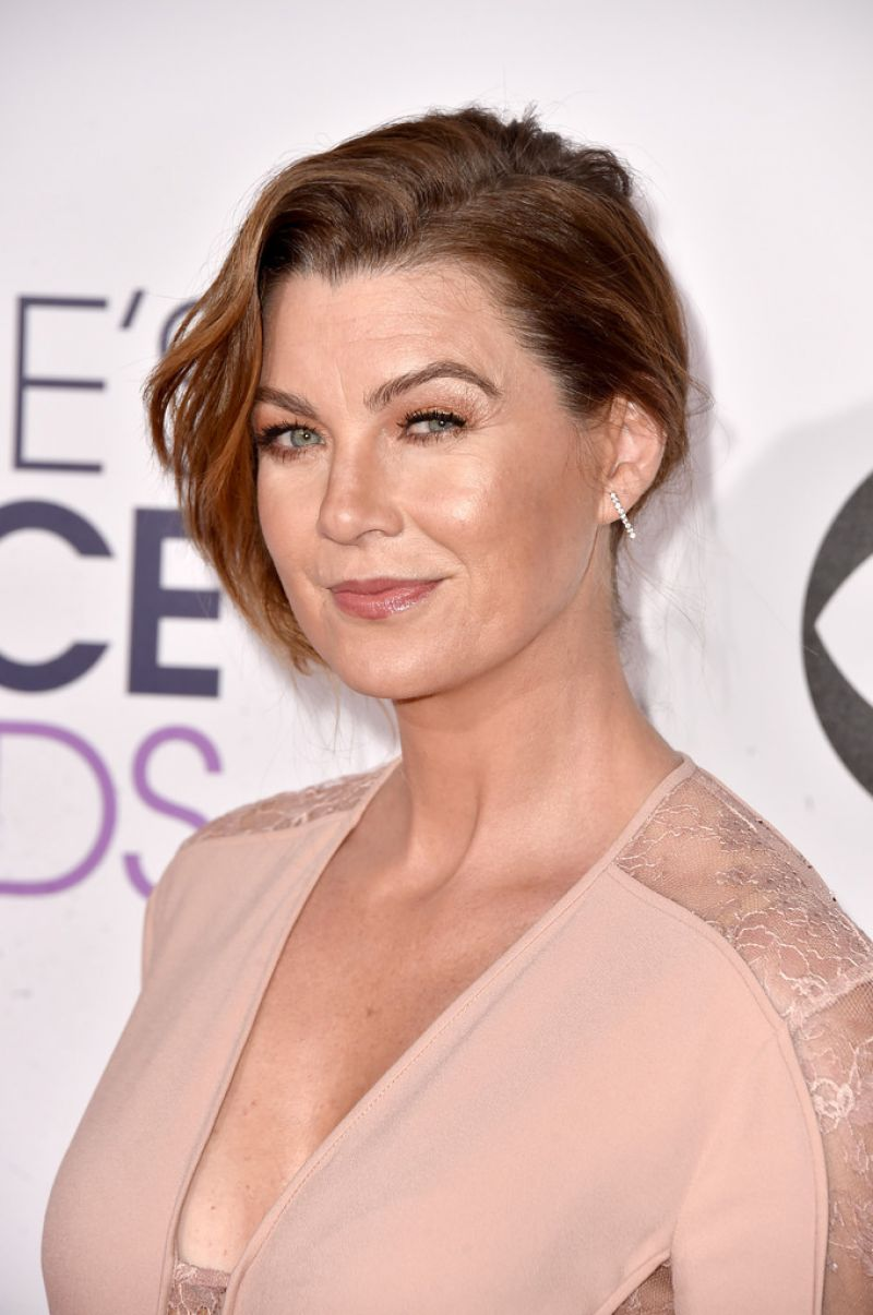 Ellen Pompeo People Choice Awards Los Angeles Demi Lovato
