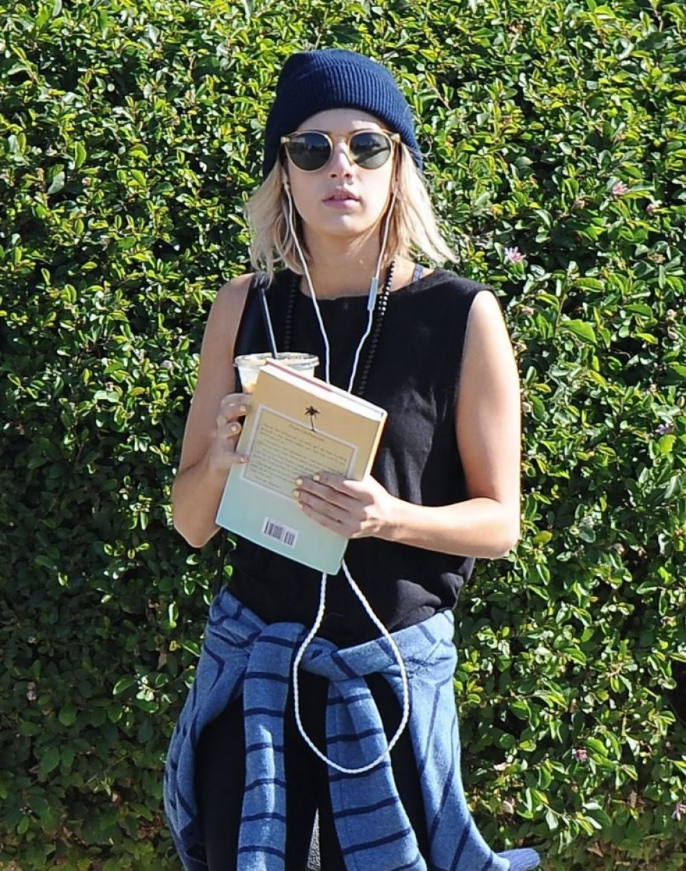 EMMA ROBERTS Heading to Urth Caffe in West Hollywood 1901