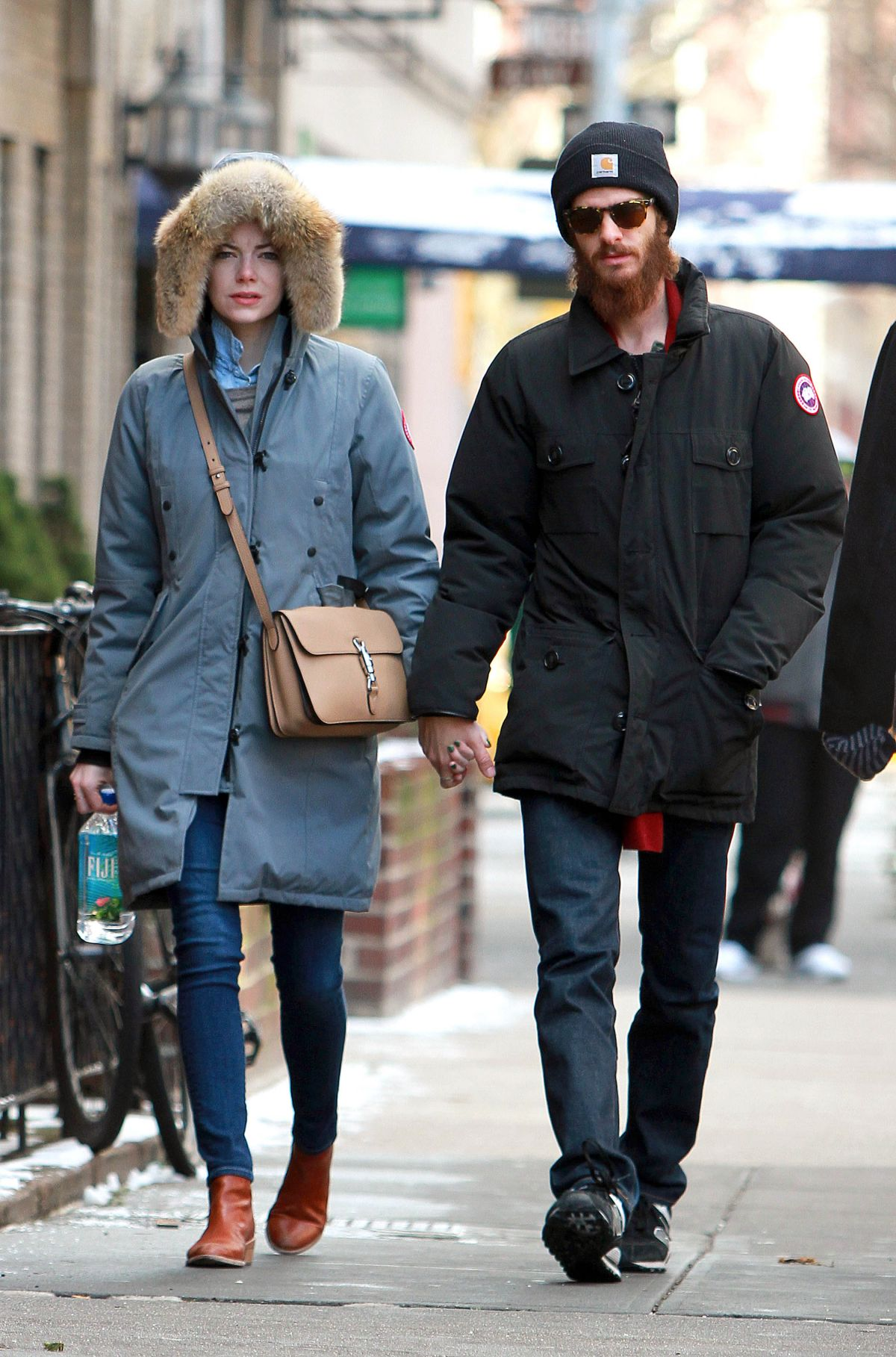 EMMA STONE and Andrew Garfield Out and About in New York 0701