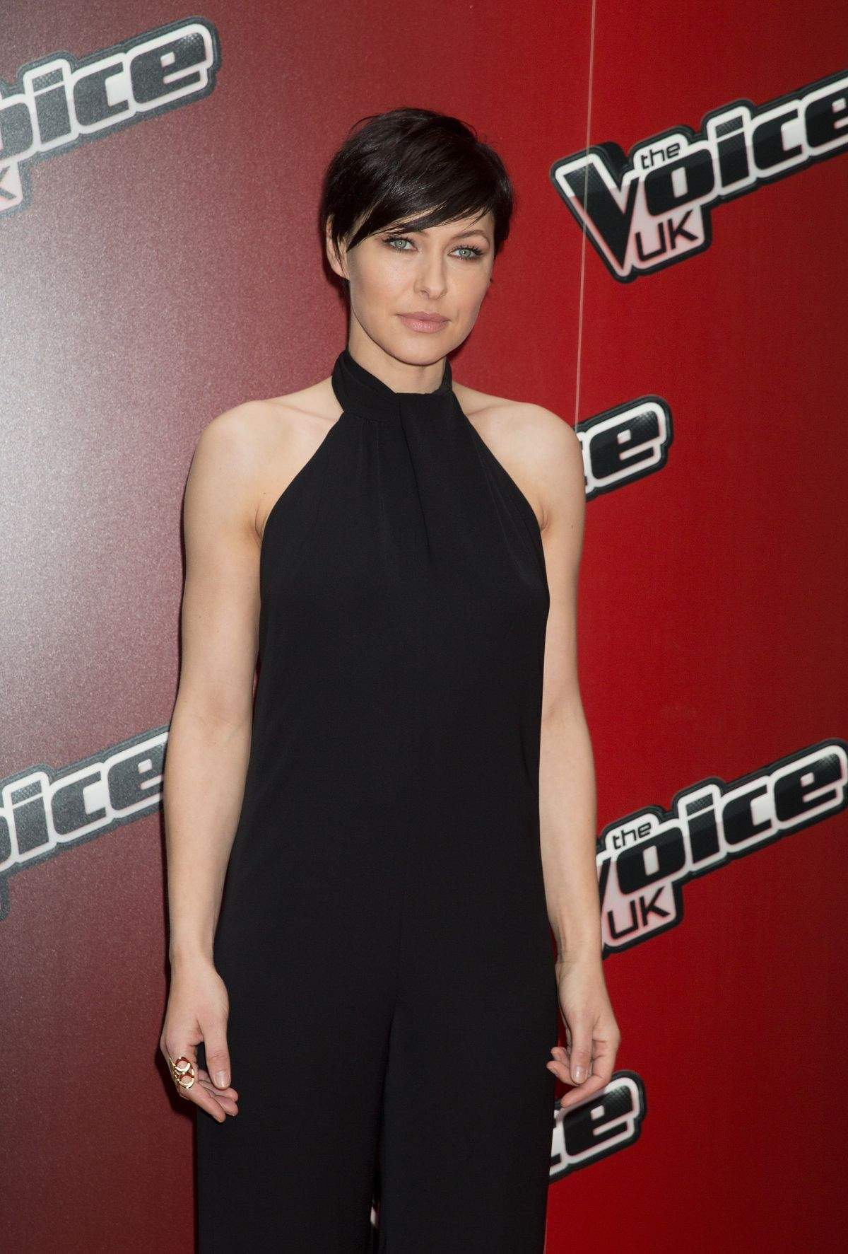 EMMA WILLIS at The Voice UK Series 4 Launch Photocall in London
