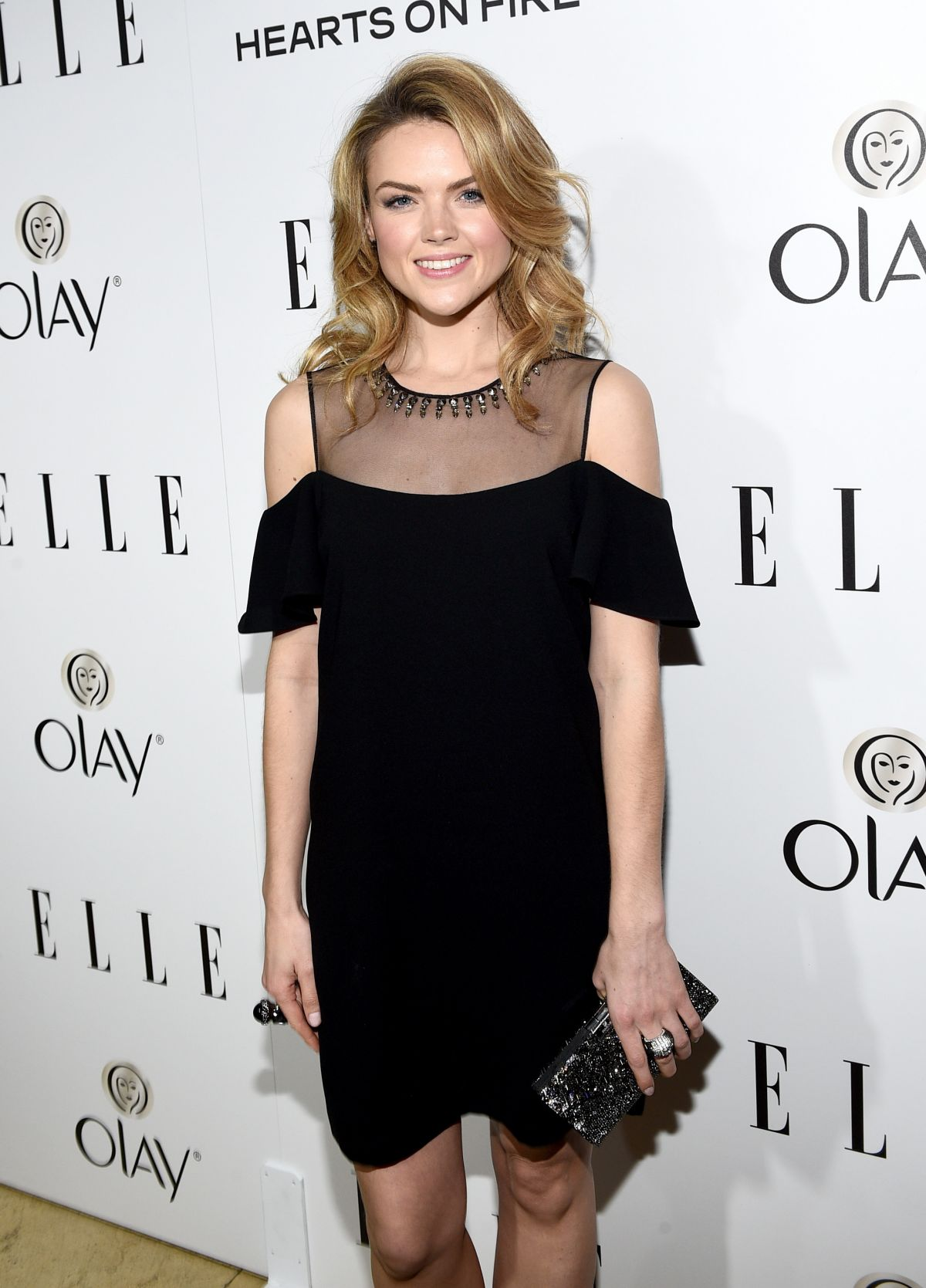 ERIN RICHARDS at 2015 Elle Women in Television Celebration in West Hollywood