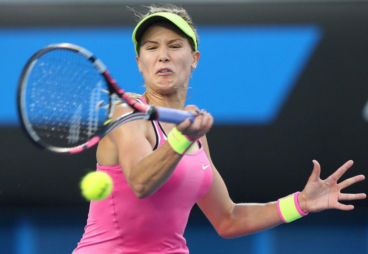 EUGENIE BOUCHARD at 2015 Australian Open in Melbourne