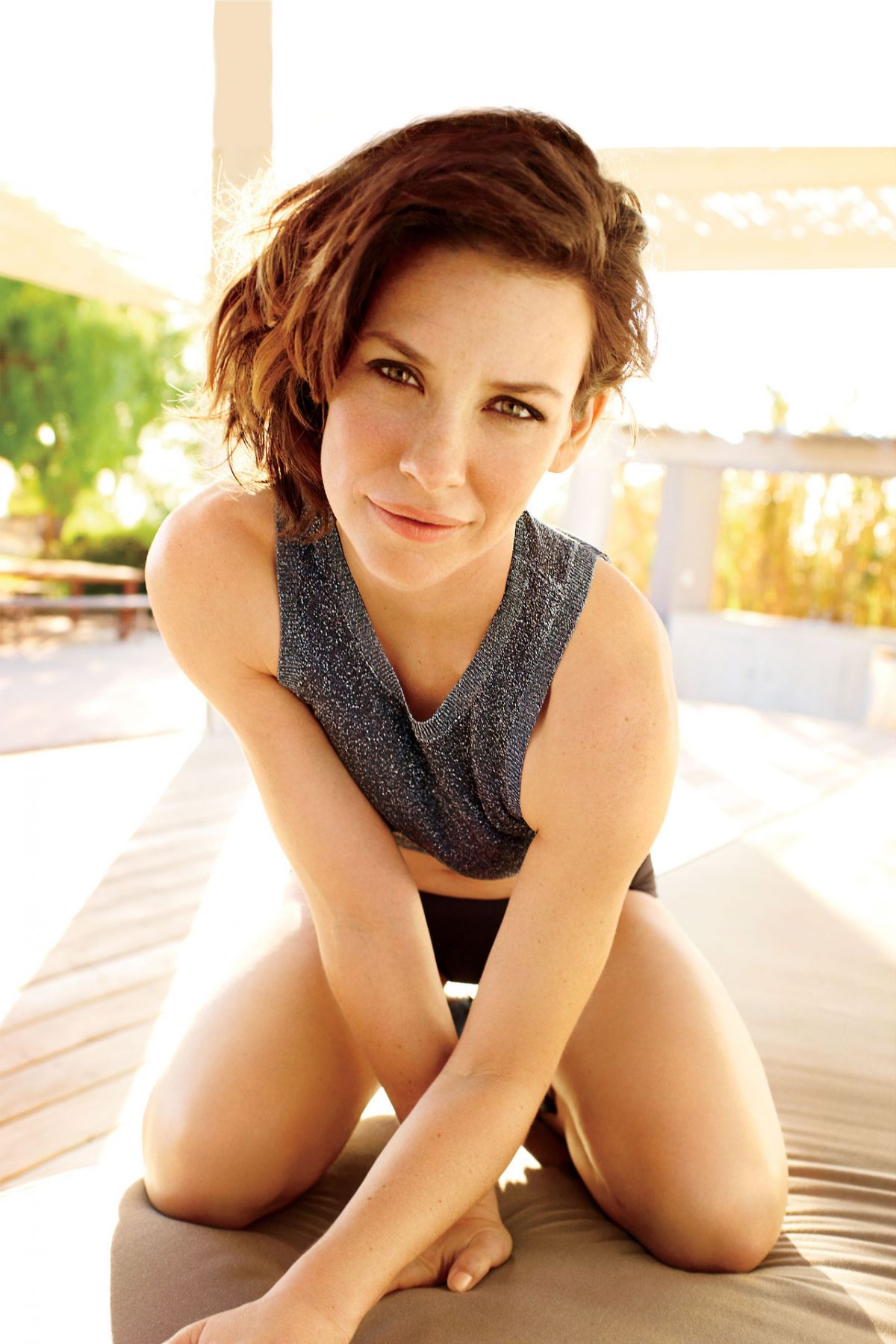 evangeline lilly photoshoots