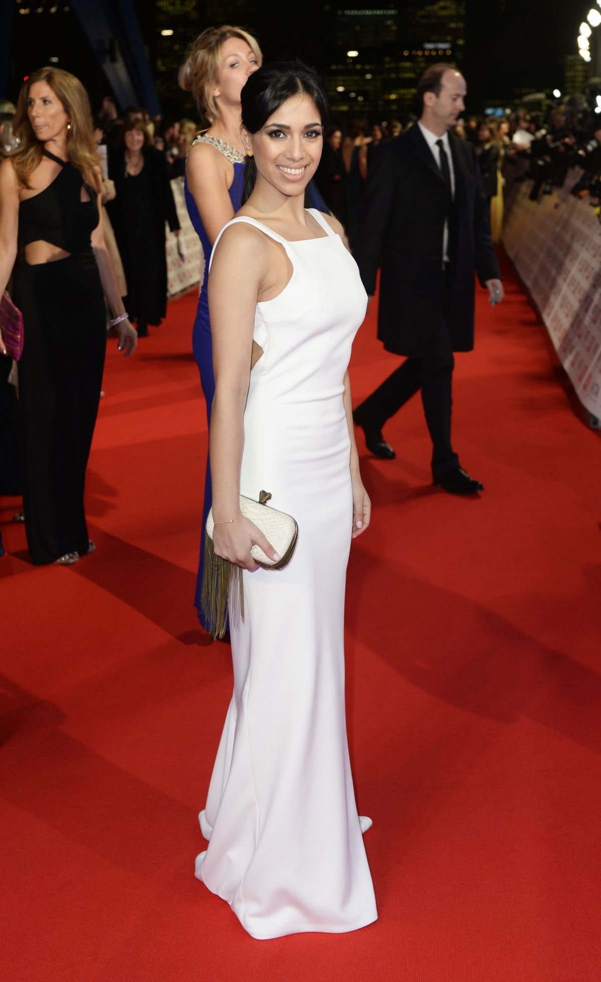FIONA WADE at 2015 National Television Awards in London