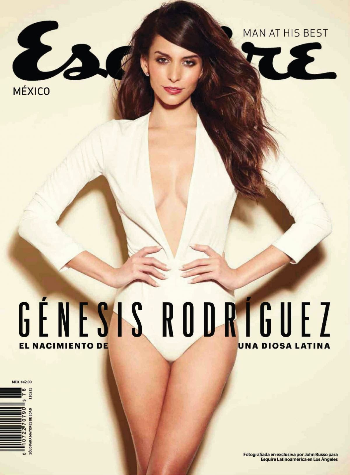GENESIS RODRIGUEZ in Esquire Magazine, Mexico January 2015 Issue