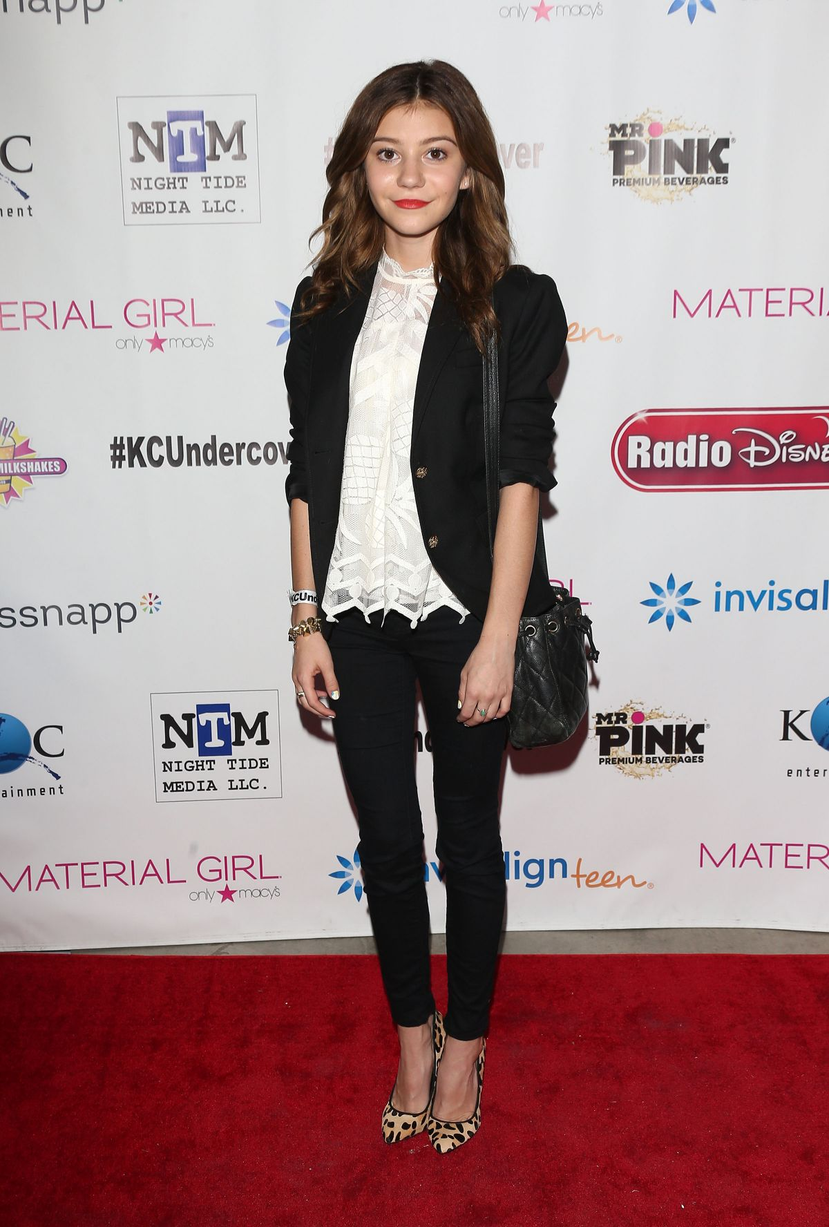 GENEVIEVE HANNELIUS at K.C. Undercover Premiere Party in Hollywood