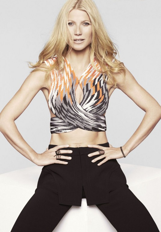 GWYNETH PALTROW in Marie Vlaire Magazine
