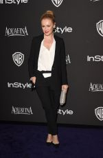HANNAH NEW at Instyle and Warner Bros Golden Globes Party in Beverly Hills