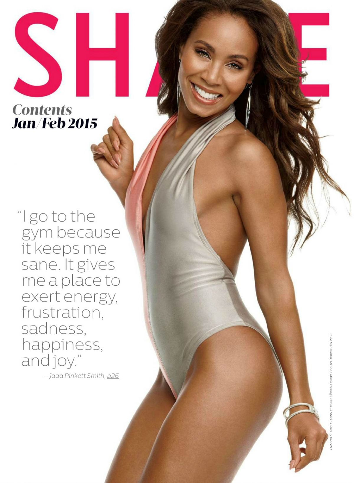 Jada Pinkett Smith Model Jada Pinkett Smith in Shape