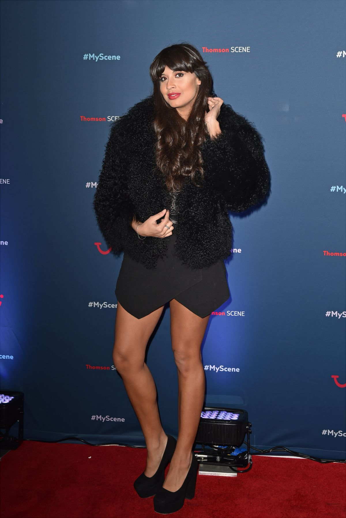 JAMEELA JAMIL at Thomson Scene Launch Event in London