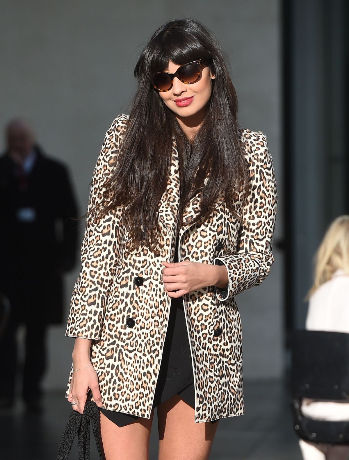 JAMEELA JAMIL Oout and About in London 2301