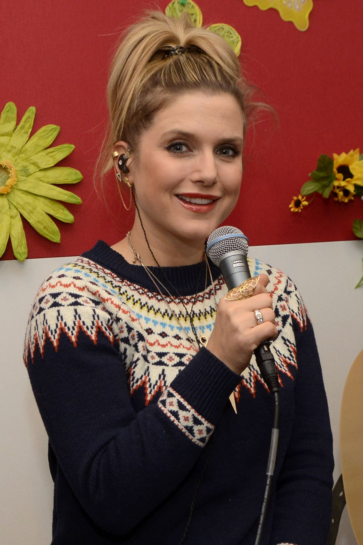 JEANETTE BIEDERMANN at Promotiontermin Radio FFN in Hanover