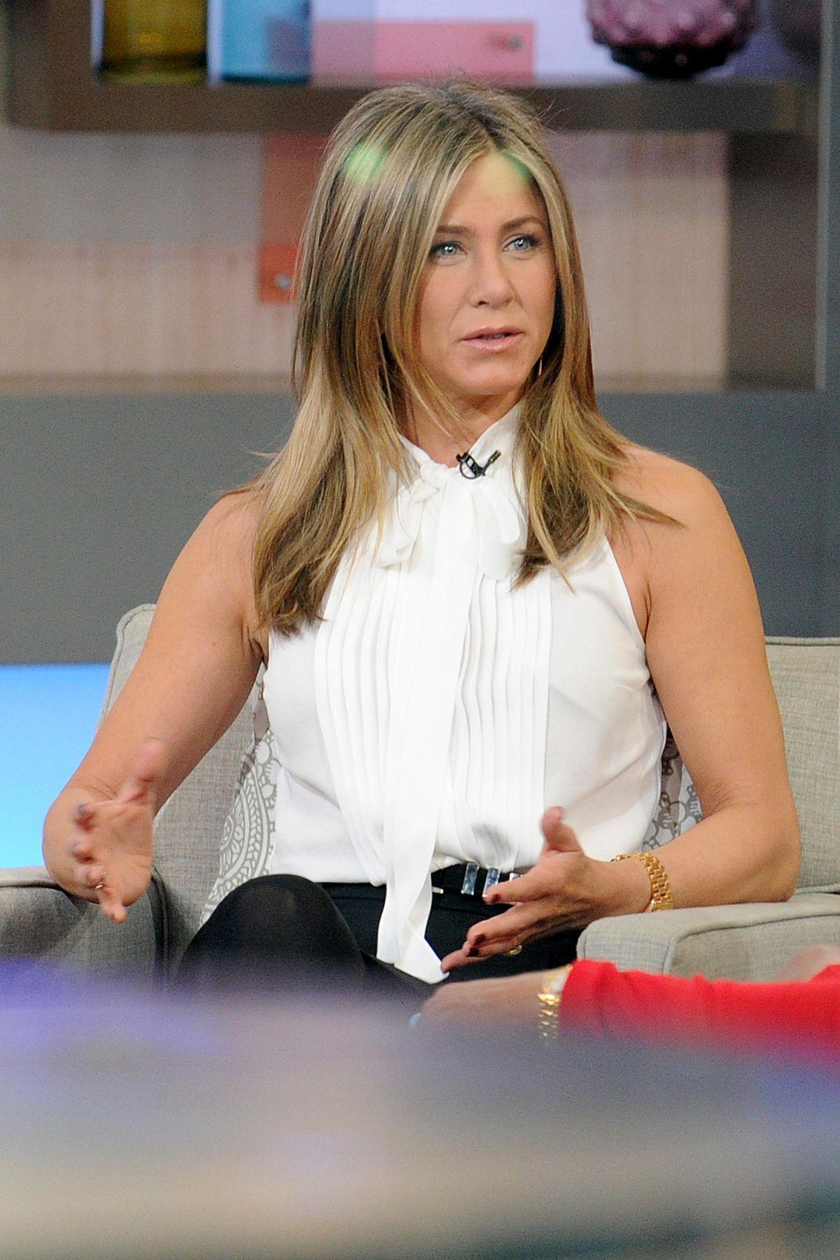 Good Morning America Latest News : Jennifer aniston at good morning america in new york