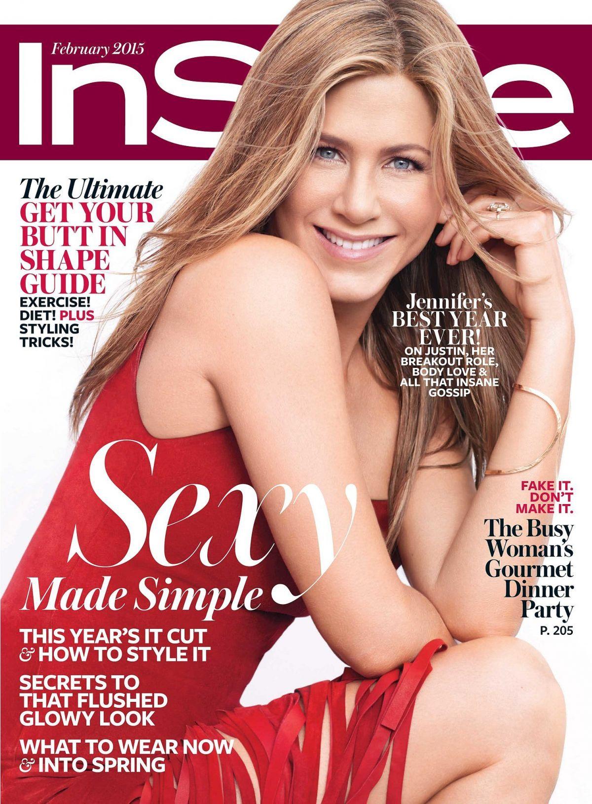 Jennifer Aniston In Instyle Magazine February 2015 Issue Hawtcelebs