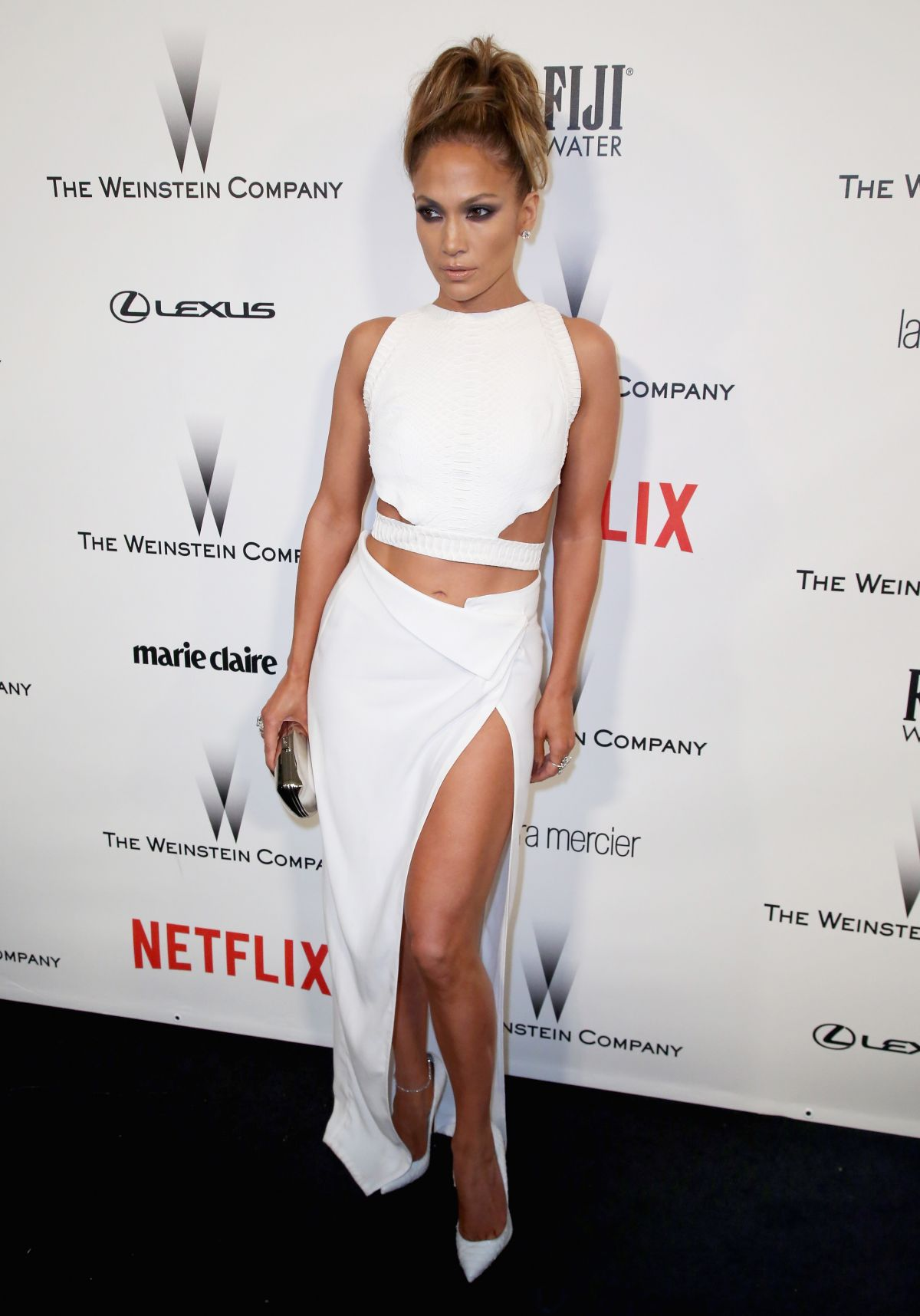 JENNIFER LOPEZ aat The Weinstein Company and Netflix Golden Globes Party in Beverly Hills