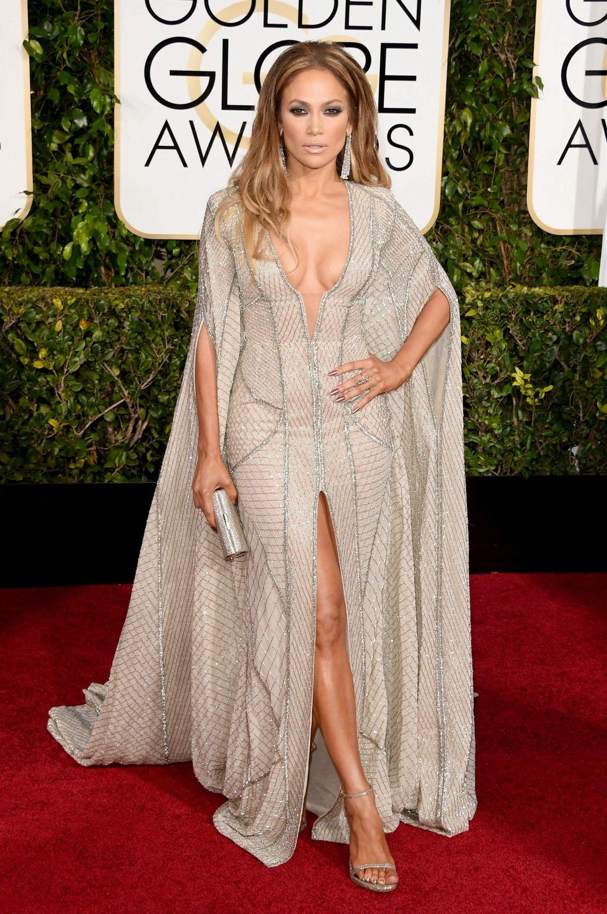 JENNIFER LOPEZ at 2015 Golden Globes Awards