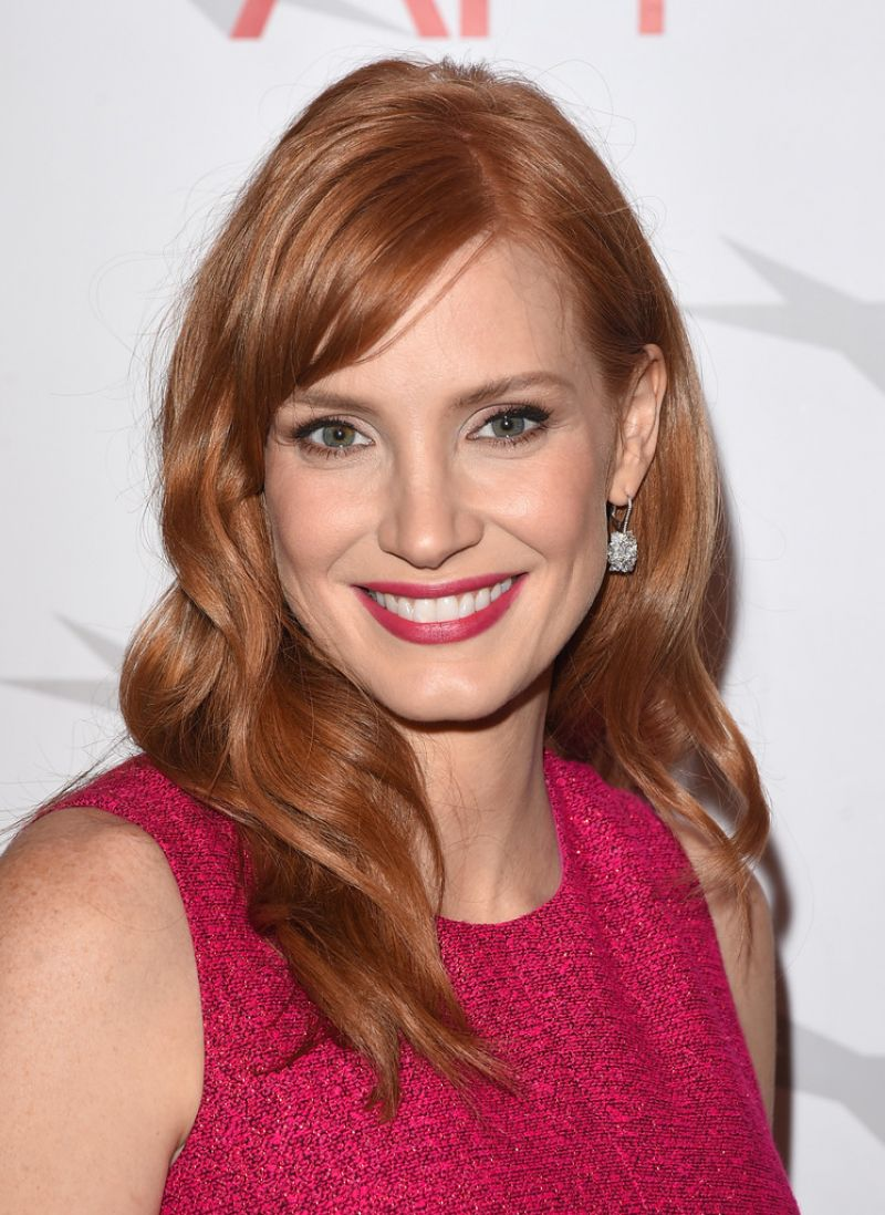 JESSICA CHASTAIN at 2015 AFI Awards in Los Angeles ... Jessica Chastain
