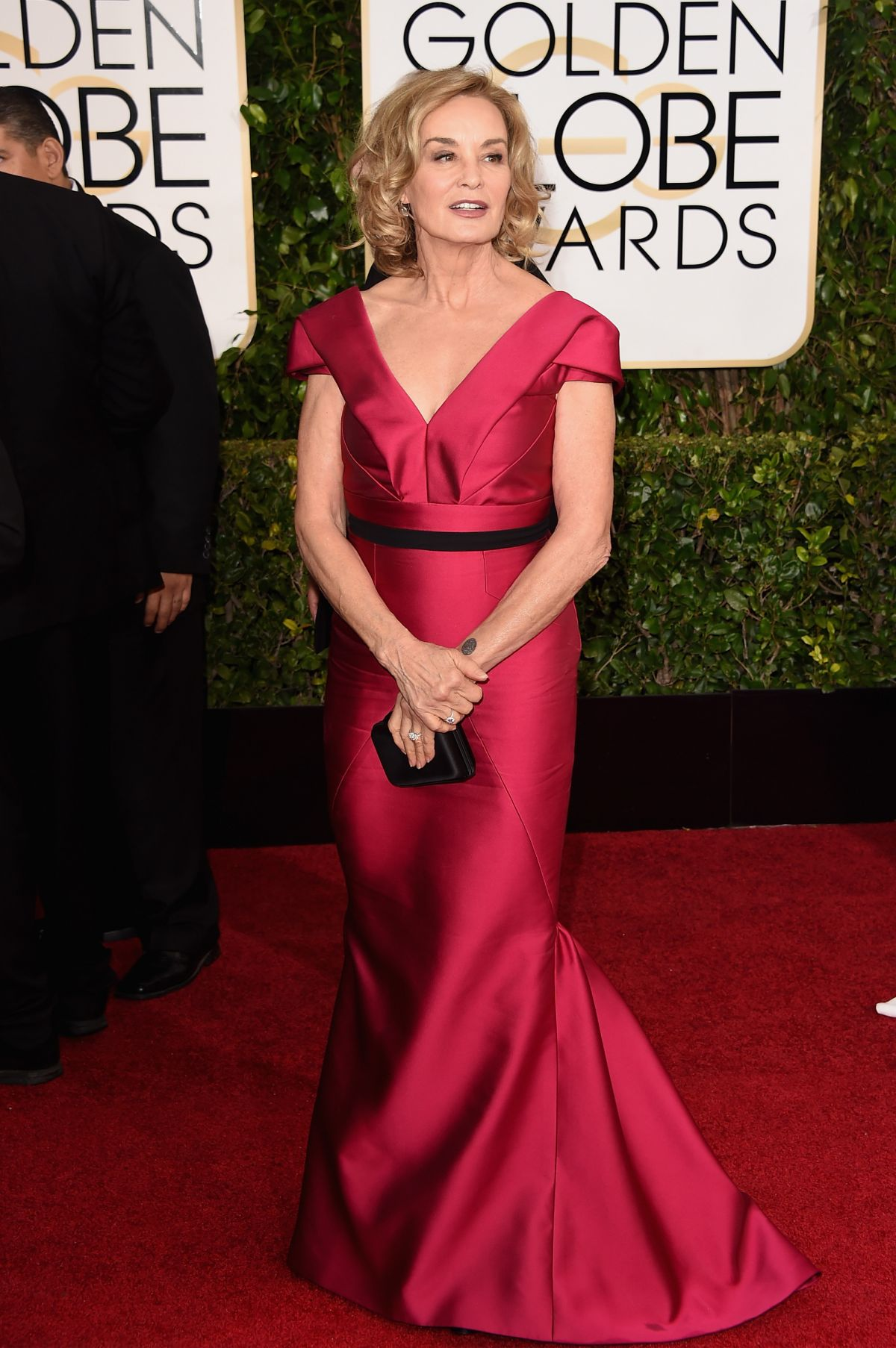 JESSICA LANGE at 2015 Golden Globe Awards in Beverly Hills
