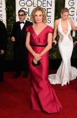 JESSICA LANGE at 2015 Golden Globe Awards in Beverly Hills