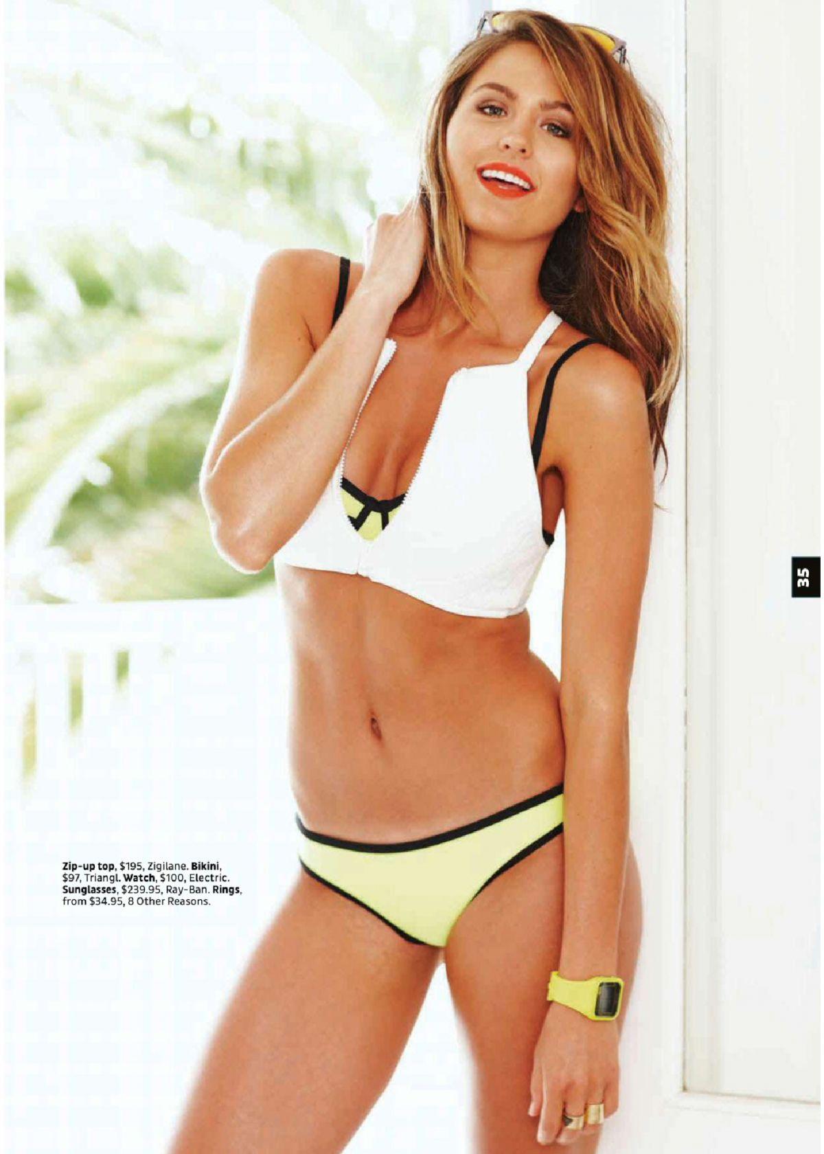 JESTINA CAMPBELL in Cleo Magazine, Australia January 2015 Issue